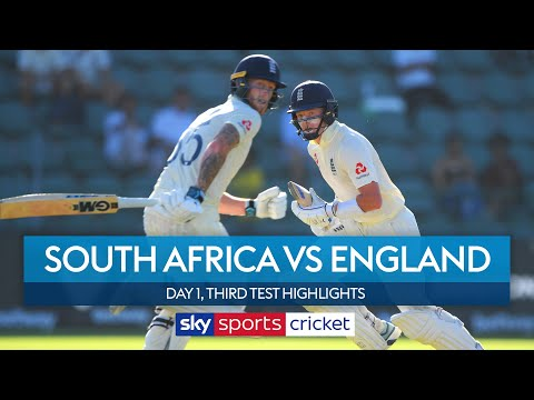 Ben Stokes & Ollie Pope galvanise England! 🏏| South Africa vs England | 3rd Test, Day 1 Highlights