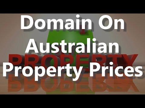 Domain On Australian Property Prices
