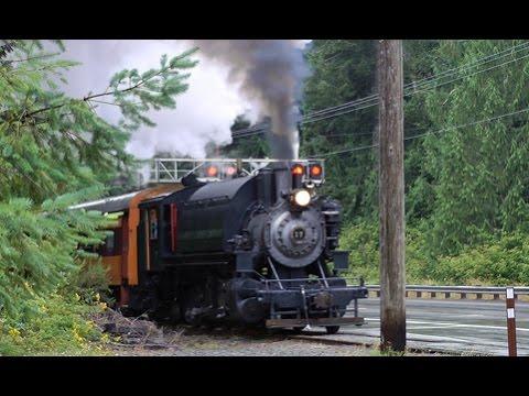 Mt Rainier Scenic Railroad Steam - 14 Aug 2015