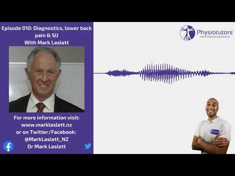 Diagnostics, the SIJ and lower back pain   Physiotutors Podcast Ep. 009   Mark Laslett