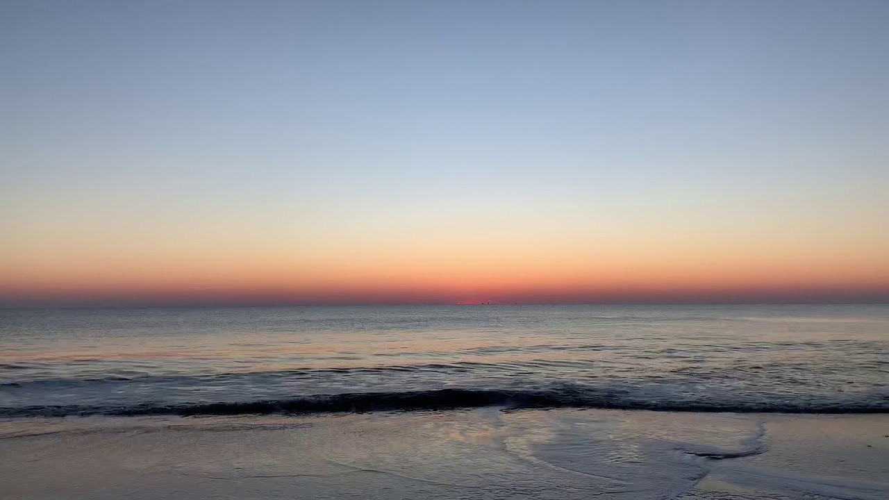 Sunrise Ocean City, Md November 21, 2018