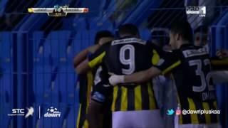 هدف الاتحاد الأول ضد  القادسية (فهد المولد) في الجولة 10 من دوري جميل