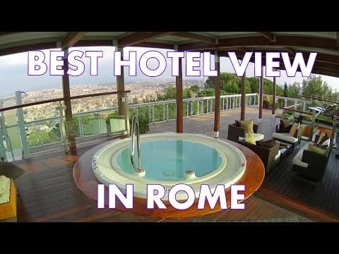 Best Hotel View In Rome - Planetarium Suite At Cavalieri Waldorf Astoria