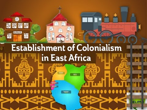 Establishment of Colonialism in East Africa