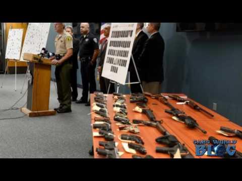 41 Arrested in San Bernardino Gang Raids