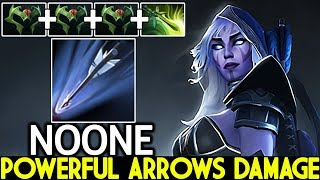 NOONE [Drow Ranger] Powerful Arrows Damage Late Game Boss 7.22 Dota 2