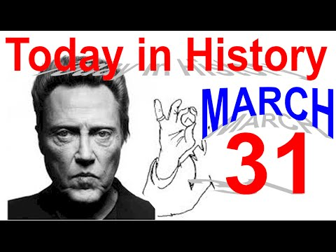Today in History: March 31