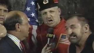 The Alliance Team Interview At Survivor Series Showdown 1990