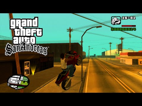 GTA SAN ANDREAS PS4 HD