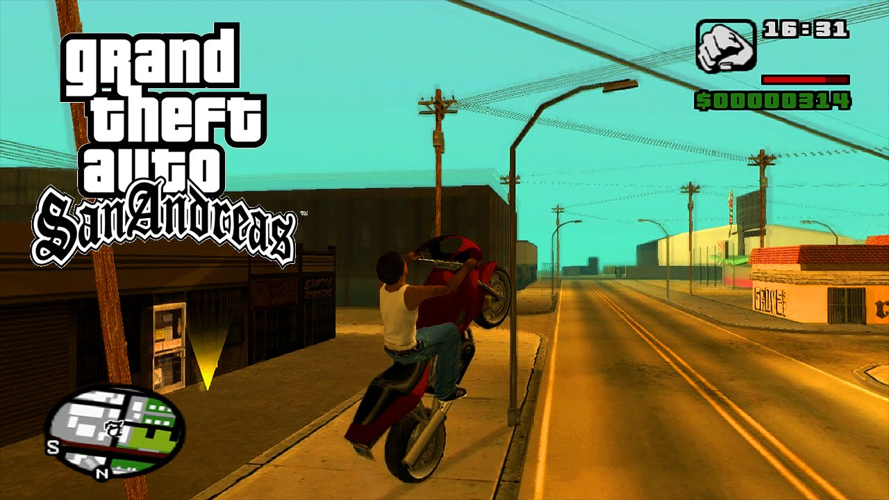 Gta San Andreas Ps Hd
