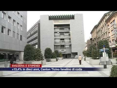 Etg - Stipendi svizzeri da sogno, ma il Canton Ticino è il fanalino di coda