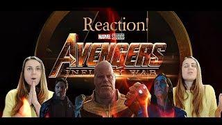 Avengers: Infinity War (First trailer's reaction)/Мстители:Война бесконечности (Реакция на трейлер)