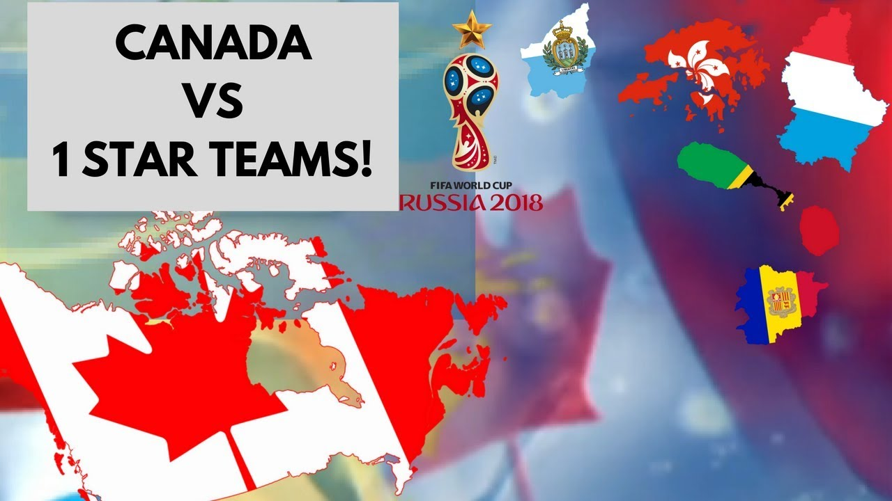 Canada vs 1 star teams world cup 2018 predictionscenario canada vs 1 star teams world cup 2018 predictionscenario gumiabroncs Images