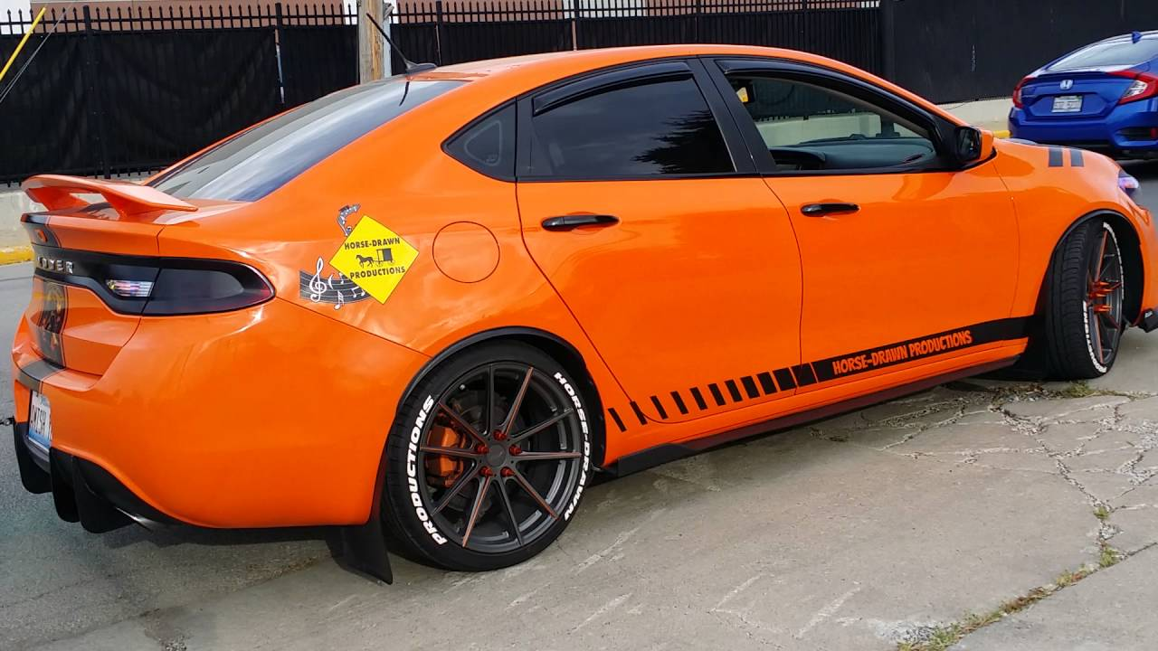 2015 Dodge Neon >> Dodge Dart 2013 1.4L Turbo Dartlene Orangina - YouTube