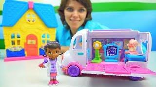 видео Игры для девочек Доктор Плюшева