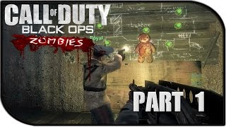 Call of Duty: Black Ops Zombies Gameplay Part 1 - Let the Killing BEGIN (Kino der Toten)