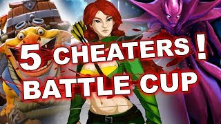 Full team of CHEATERS in BATTLE CUP - WTF with Valve Anti-Cheat?