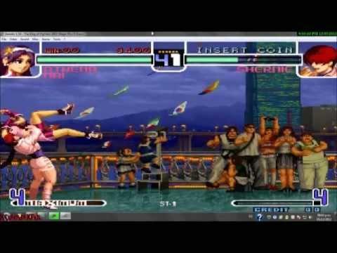 The King of Fighters 2002 Magic Plus II bootleg ROM