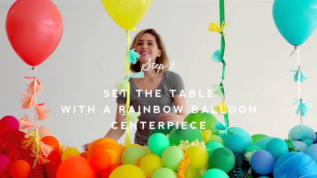 Rainbow Baby Shower Oh Happy Day Youtube