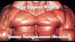 Тренинг ВЕРХА ГРУДНЫХ для НАТУРАЛА от HeavyMetalGYM