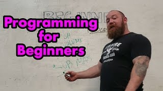 Programming Series #2 - Basic Strength Training - How to Program Workouts for Beginners