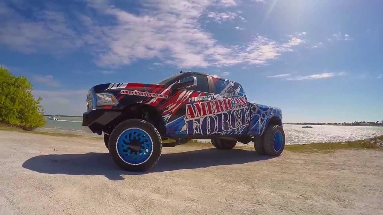 American Force Wheels 2015 Ram 3500 Dually On Sd Series