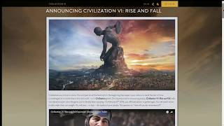 Video Civilization VI's new expansion Rising and Fall Announced! download MP3, 3GP, MP4, WEBM, AVI, FLV Januari 2018