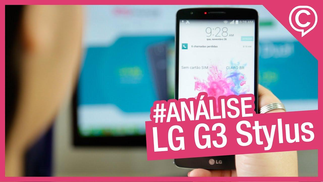 030858b4eb5 LG G3 Stylus [Análise] - Cissa Magazine - YouTube