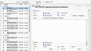 Activity handling with ActivityTools for MS CRM 2011