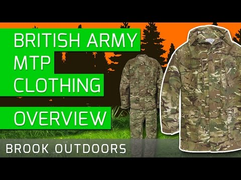 British Army MTP Clothing | Jacket | Shirt | Trousers
