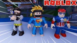 SUPERBOHATEROWIE W JAILBREAKU! - #449 ROBLOX