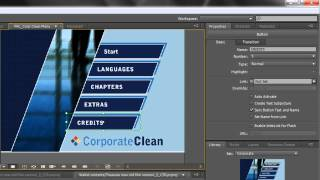 Adobe Encore Basics 2: Creating Menus