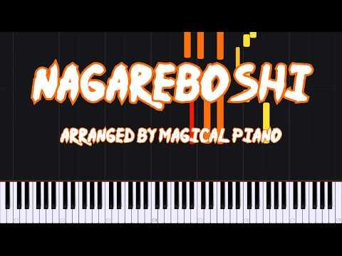 Nagareboshi (Shooting Star) - Naruto Shippuden (Ending 1) [Piano Tutorial] // Magical Piano