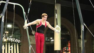 James Jindra - Still Rings - 2011 Winter Cup Challenge Day 1