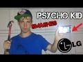 Psycho KID SMASHES LG CELLPHONE