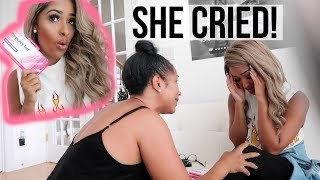"""""""I'M PREGNANT"""" PRANK ON MY MOM! (I made her cry!)"""