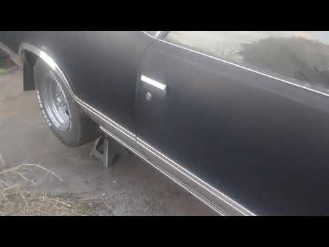 1984 El Camino fuel tank install pt2
