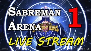 Sabretooth Arena - Part 1 | Marvel Contest of Champions Live Stream
