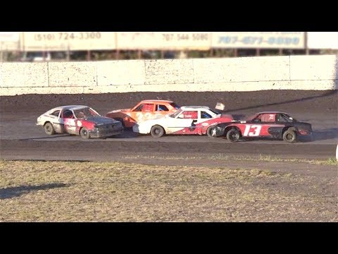 Mini Stock MAIN 6-17-17 Petaluma Speedway