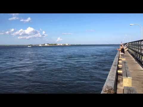 Fishing At High Tide @ Captree State Park