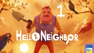 Hello Neighbor: Awful Controls! - Ios / Android Gameplay Part 1 By Tinybuild