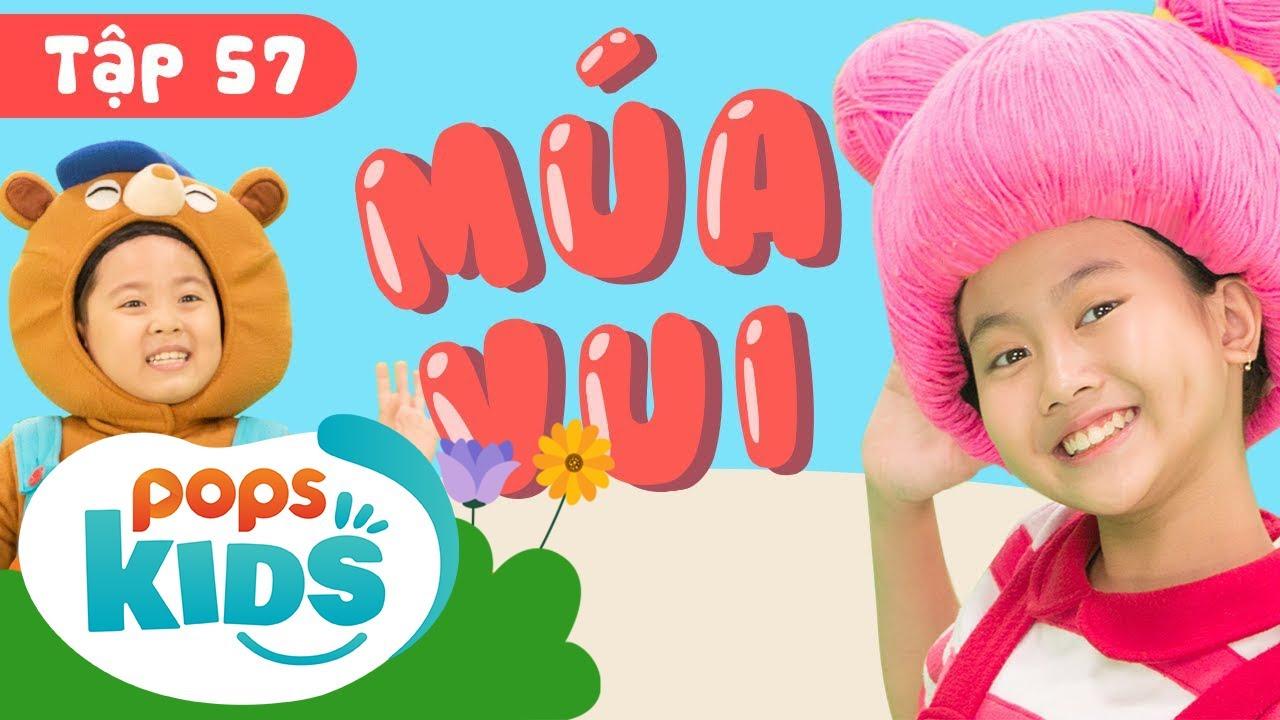 Mầm Chồi Lá Tập 57 – Múa Vui | Nhạc Thiếu Nhi Cho Bé | Vietnamese Songs For Kids