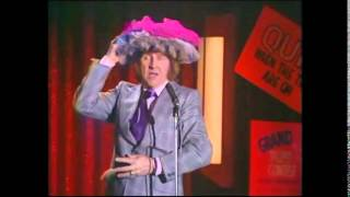 Norman Collier at the Wheeltappers & Shunters Social Club - Granada TV