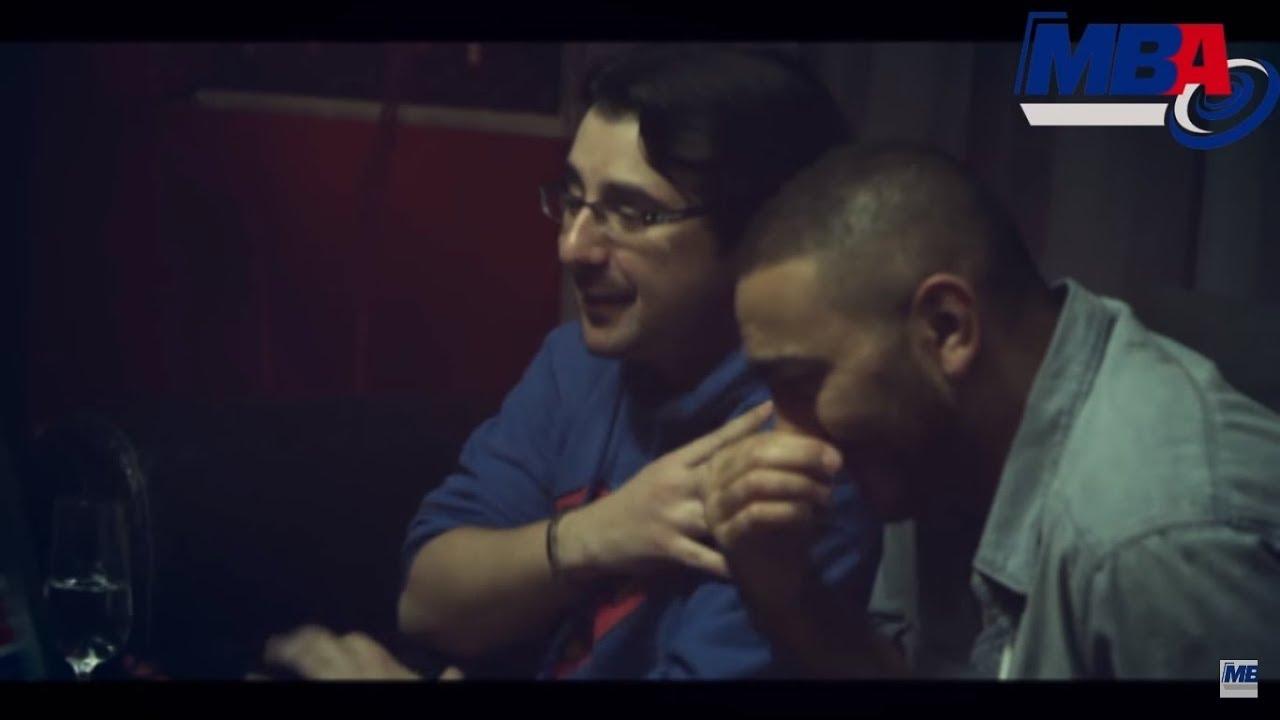 تامر حسني يشتغل اصدقائه و يعمل صوت بنت في مشهد يموت من الضحك
