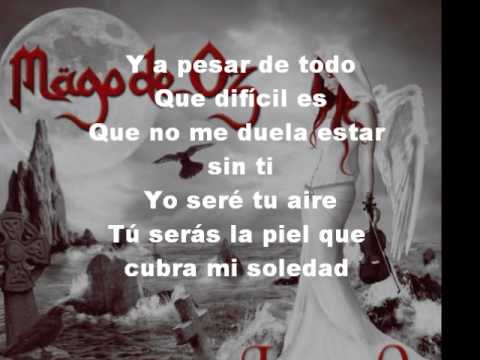 Si te vas- Mgo de oz lyrics-letra - YouTube