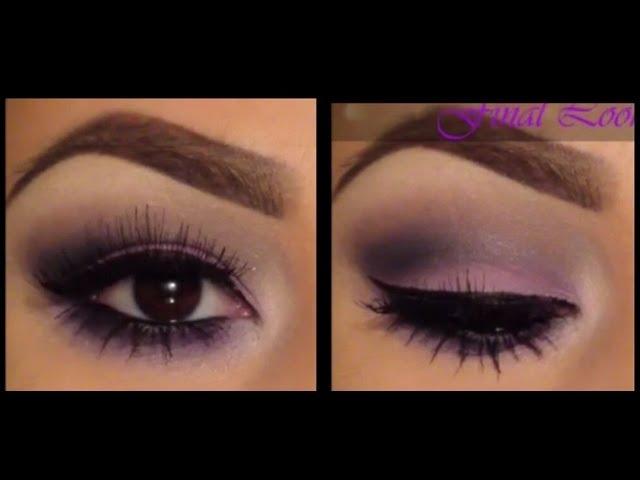 Easy Purple Smokey Eye Tutorial Clipzui