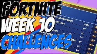Fortnite CHALLENGES WEEK 10 SEASON 7 LEAKED, Visit Explorer Outpost in a Single Match