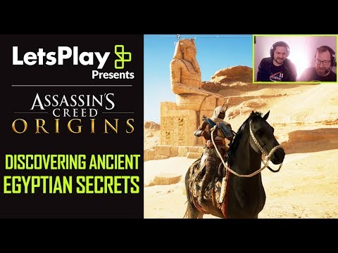 Assassin's Creed Origins: Discovering Ancient Egyptian Secrets | Let's Play Presents | Ubisoft