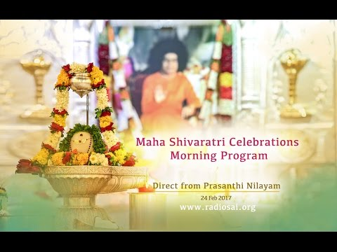 Maha Shivaratri Morning Celebrations at Prasanthi Nilayam - 24 Feb 2017