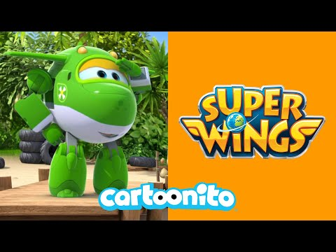 Super Wings | Nothing Stops The Reggae | Cartoonito UK